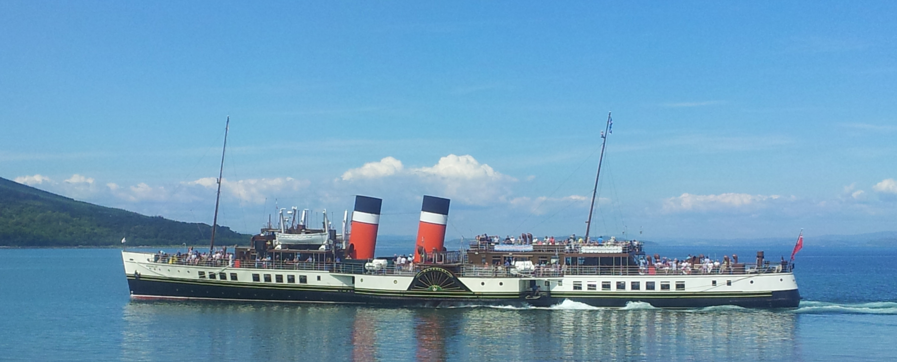 Waverley at Arran