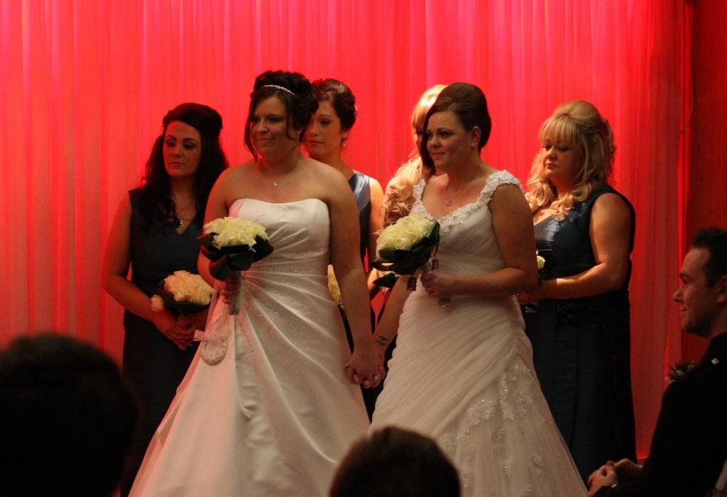 brides & bridesmaids c